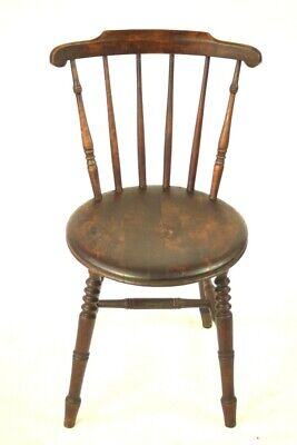 Antique Beech 'Penny' Windsor Kitchen Chair - FREE Shipping [5499]