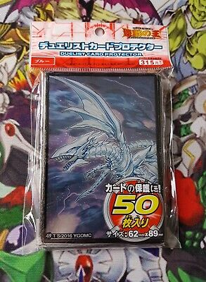 Yu-gi-oh 50 protège carte YuGiOh sleeves Dragon Blanc Alternatif blue eyes