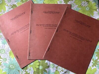 AUSTRALIAN JOURNAL OF BOTANY Volume 6 Number 2 1958 Reprint Book Papers