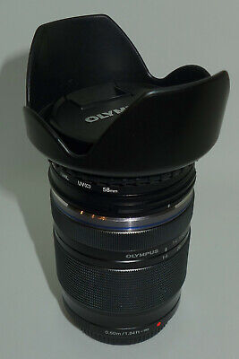 Olympus M.ZUIKO Digital ED 14-150mm F4.0-5.6 II Lens Plus Hoya UV filter