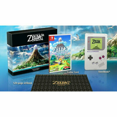 Zelda Links Awakening Limited Edition + Amiibo IN STOCK New/Sealed The Legend of