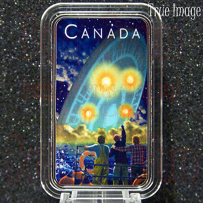 2019 Shag Harbour UFO Incident #2 - $20 Glow-in-the-Dark Pure Silver Coin Canada