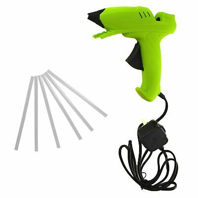 Glue Gun Hot Melt Glue Heat Electric Trigger with 8 Glue Sticks 40w
