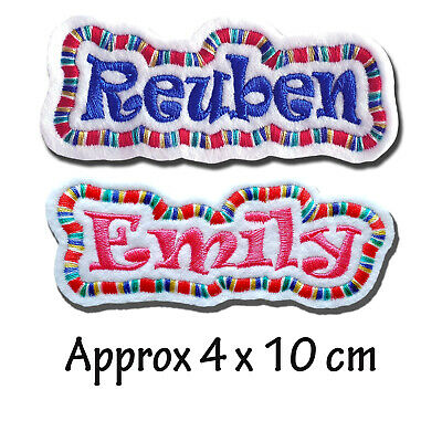 Personalised Custom Star Wars Themed Aurebesh Font Embroidered Felt Name Patch Upper /& Lower Case Characters