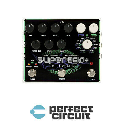Electro-Harmonix Superego+ Synth Engine EFFECTS - NEW - PERFECT CIRCUIT