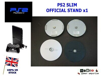 Official Sony PlayStation 2 Silver Slim Vertical Console Stand PS2 SCPH-70110