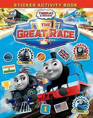 Thomas & Friends: The Great Race Movie Sticker Book (Thomas & Friends Film Tie i