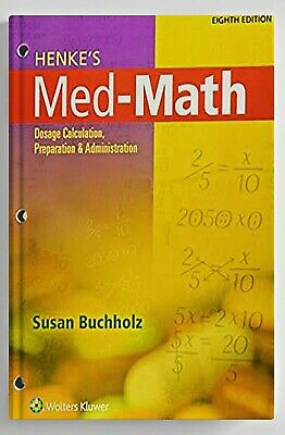 Henke's Med-math (eBooks, pdf, ePub , kindle)