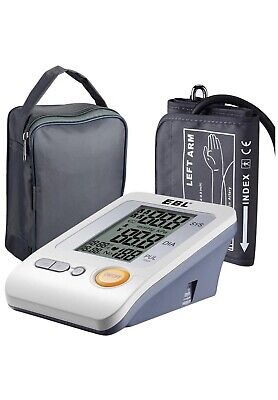 EBL Home Use Blood Pressure Monitor with Storage Bag, Upper Arm Type Pressure Mo