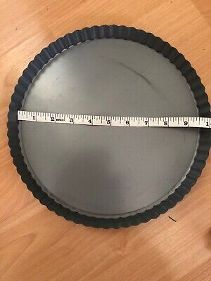10 Inch Non Stick Flan Dish Removable Base