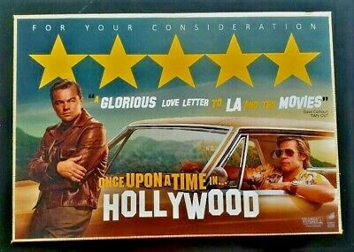 ONCE UPON A TIME IN HOLLYWOOD FYC Postcards With Stamps Promo
