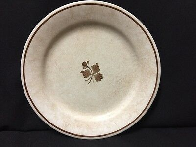 "Antique! Alfred Meakin Tea Leaf Royal Ironstone China 8.5"" Dinner Plate"