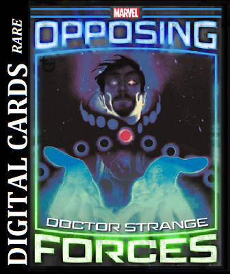 Topps Marvel Collect Card Trader Opposing Forces Doctor Strange Vs Dormammu