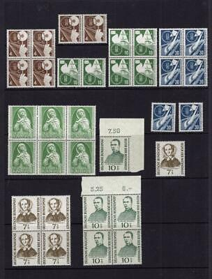 Germany - Accumulation of MNH Stamps - Cats $812.25   No Reserve!