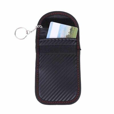 Car Remote Key Signal Blocker Cover Bag Signal Blocking Shielding Pouch Mini Bag
