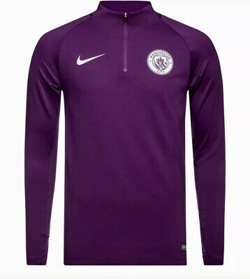 Nike Sheild Manchester City Fc Squad/Drill Top Adults Size Large Bnwt £39.99