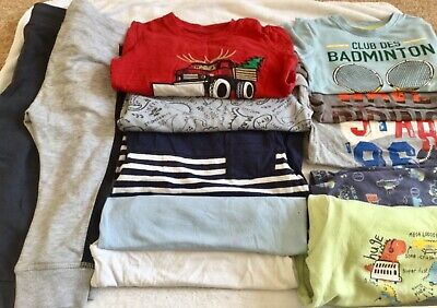 Boys bundle Size 2-3 years used but ok condition 12 items tracksuit bottoms tops