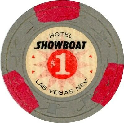 $1 Chip from the Showboat Casino in Las Vegas, Nevada