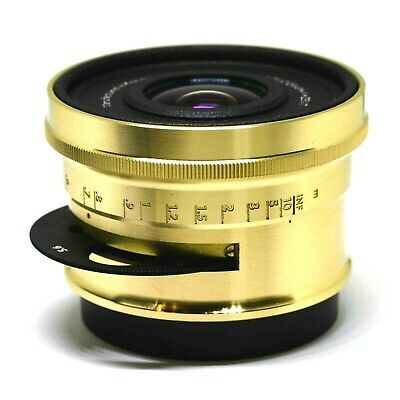 Lomography Zenitar Zenit 32mm f/2.5  for Canon Art Lens Brass Lomogon