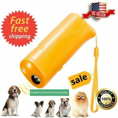 Dog Anti Barking Trainer Pet Gentle Led Light Ultrasonic Chaser Petgentle Style