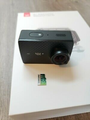YI 4K+ Action Camera, Sports Cam with 4k/60fps  4k Plus.  Barely used.