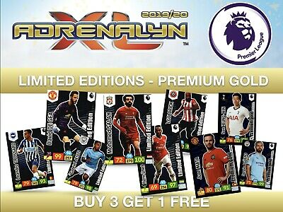 Panini Premier League 2019/20 Adrenalyn XL LIMITED EDITIONS/PREMIUM GOLD 19/20