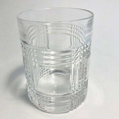Ralph Lauren Glen Plaid Double Old Fashioned Whiskey Glass