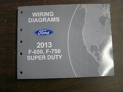 2013 FORD TRUCK F-650 F-750 Wiring Diagrams Electrical ...  Ford Super Duty Wiring Diagram on