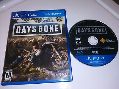 Days Gone (PS4 / PlayStation 4, 2019) MINT & Region Free  &  Free Shipping