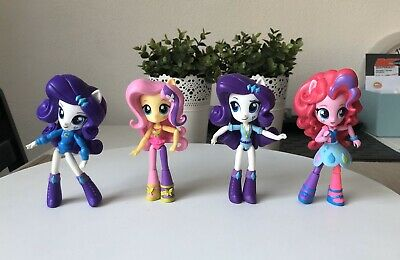 3 X My Little Pony Equestria Girls Minis School Figures Toy Doll Lot Hasbro Used