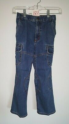 NWT Hanna Andersson Anderson elastic band jeans size 120  (approx US 5T), 5-6yr