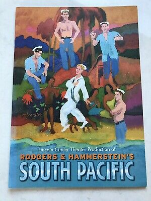 South Pacific Lincoln Center Theatre London Programme 2011 Rodgers & Hanmerstein