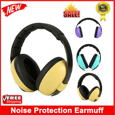 Unisex Baby Children Ear Defenders Earmuffs Protection 0-12 Year Care Ear Muffs