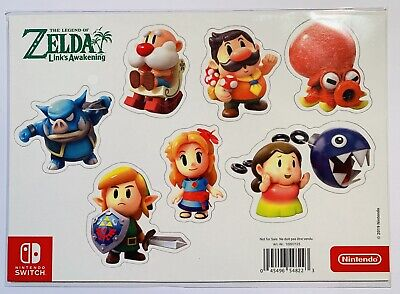 The Legend of Zelda Link's Awakening Magnets Nintendo Switch Limited Edition