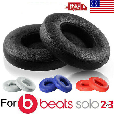 Replacement Ear Pads Cushion F/ Beats by Dr Dre Solo 2 Solo 3 Wireless Bluetooth
