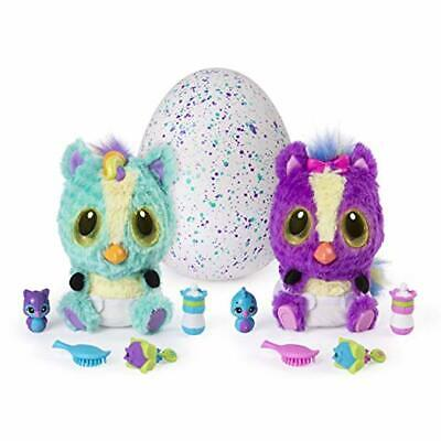 Hatchimals, HatchiBabies Ponette, Hatching Egg with Interactive Toy Pet Baby