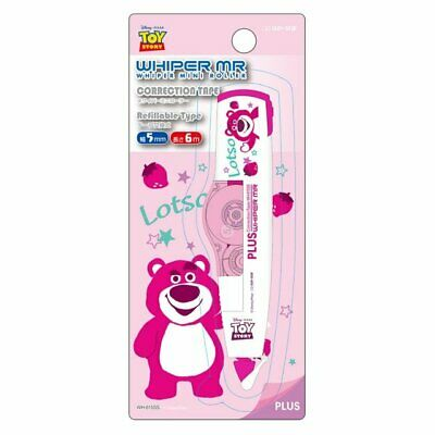 PLUS WHIPER Disney Toy Story 4 MINI ROLLER (Lotso) WH-615SS Correction Tape