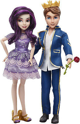 Disney Descendants Mal Isle Of The Lost And Ben Auradon Prep Dolls Kids Toy Gift