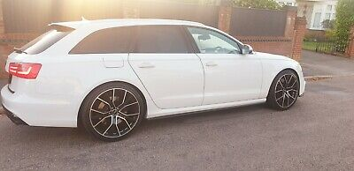 Audi S6 Rs6 Alloys & Grill - 2013 - Rare Glacier White - 560 Bhp- Mint -Fast Car