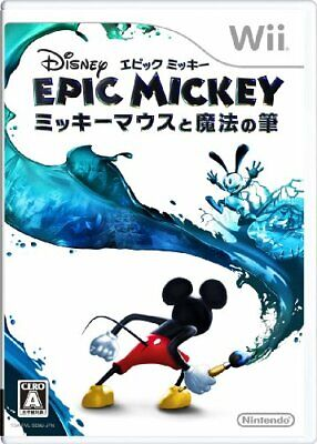 Gebraucht Disney Epic Mickey - Mickey Mouse And The Magic Pinsel Wii