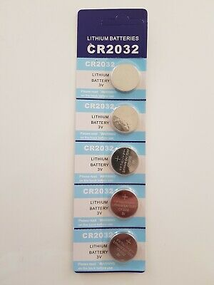 5X New Cr2032 3V Lithium Cell Battery 5004Lc 2032 Br2032 Button Batteries Oz