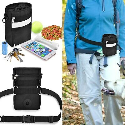 Lightweight Portable Pet Training Treat Pouch Shrinking Buckle Poo Bag Dispenser