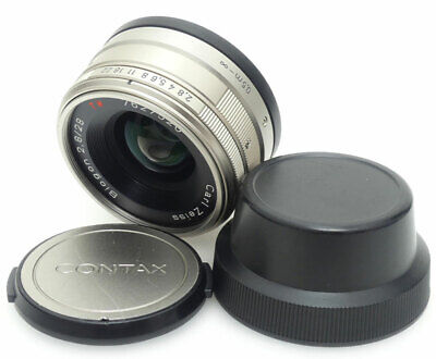 Contax Carl Zeiss Biogon 28mm F2.8 T* Lens For Contax G1 / G2