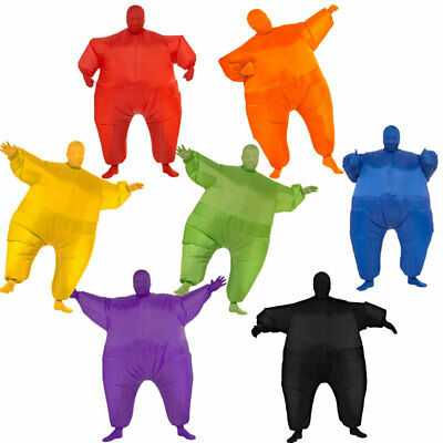 Adult Inflatable Fat Chub Suit Fancy Dress Party Cosplay Costume Halloween Party