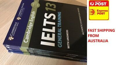 IELTS books 9-13 (9,10,11,12 and 13) 100% new General version with CD