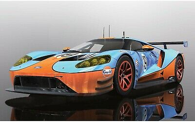 Scalextric Ford GT GTE 'GULF Edition'- C4034 - New in Box