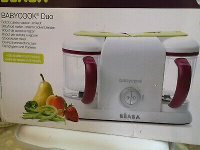 Beaba Babycook Duo 4-in-1 Babyfood Steamer & Blender - Used very good condition
