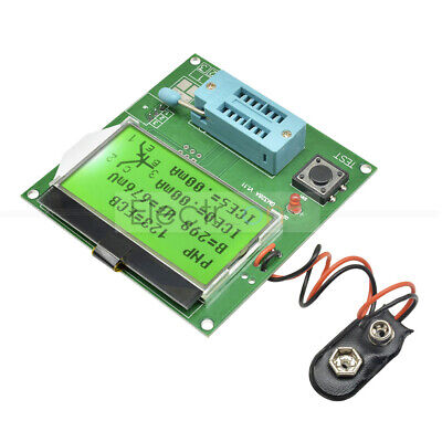GM328A Transistor Tester LCR ESR LCD Meter Frequency PWM Square Wave Generator