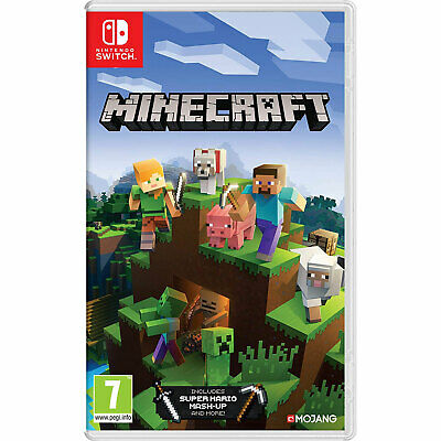 Minecraft NINTENDO SWITCH New and Sealed