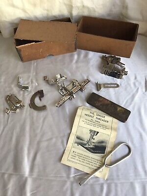Various Vintage Singer / Simanco Sewing Machine Attatchments etc